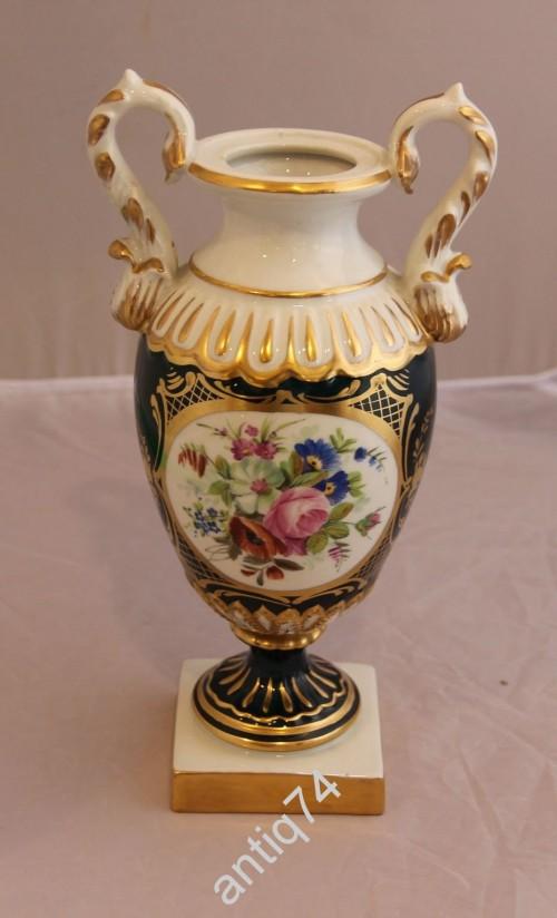 Небольшая дворцовая ваза. Германия, Франция? Ручная роспись