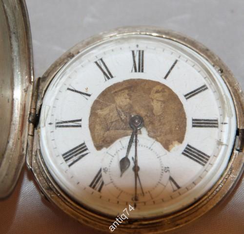 Карманные призовые часы. 1-й приз за стрельбу от офицеров Измайловского полка. с фото Александра 3.