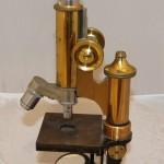 Микроскоп старинный. Германия для России