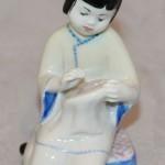 Китаянка вышивает голубя. ЛФЗ