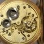 Золотые карманные часы, интересные, на ходу. Borel Fils.