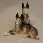 Овчарки, собаки. Вербилки, 30-е годы