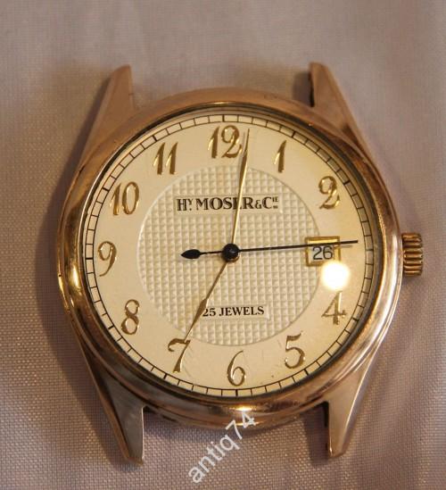 Часы Мозер, 585 проба. Механика с автоподзаводом. (в17529