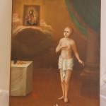Икона Святой Иаков Боровичский, очень редкий сюжет