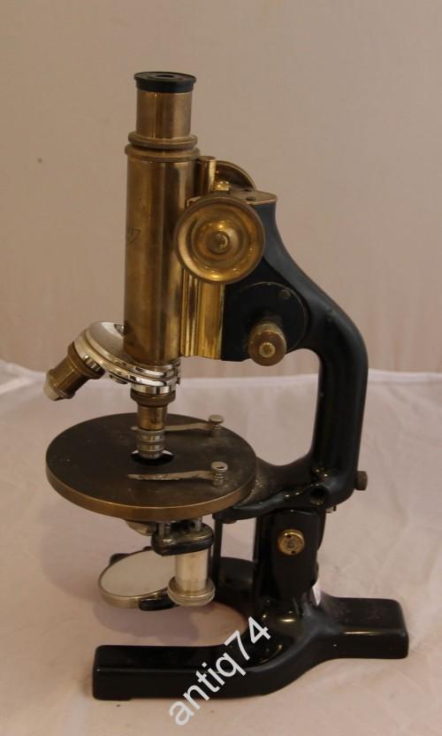 Микроскоп старый. Reichert Австрия