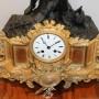 Каминные часы с рыцарем. Высота 50 см! 143807777 (2)