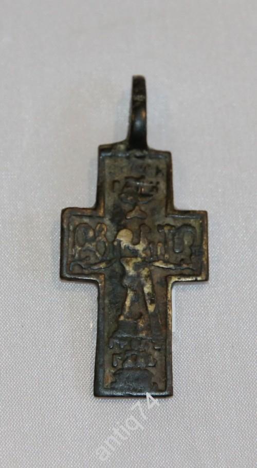 Редкий нательный крест с Никитой Бесогоном