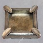 Пепельница, серебро, 875 проба