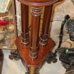 Этажерка, консоль с бронзой