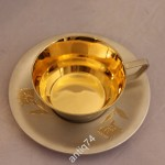 Кофейная пара в идеале! Серебро, позолота, 875 пр