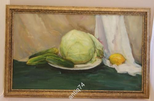 Натюрморт с овощами. Иванов А. 2001г СПБ
