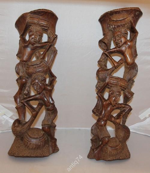 Ритуально-мистическое дерево жизни. Африка, племя Маконде