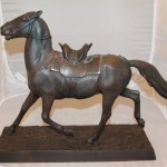 Лошадь осёдланная, казацкая. Касли, 1936 год. С экспертным заключением