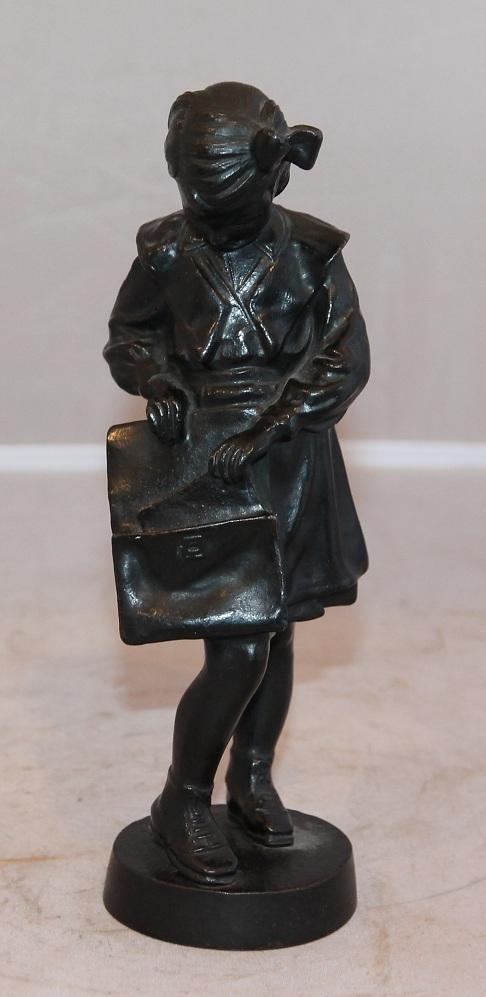 девочка с портфелем. школьница касли