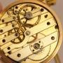 Золотые карманные часы с ключом. 56 проба. Robert. Швейцария. На ходу.
