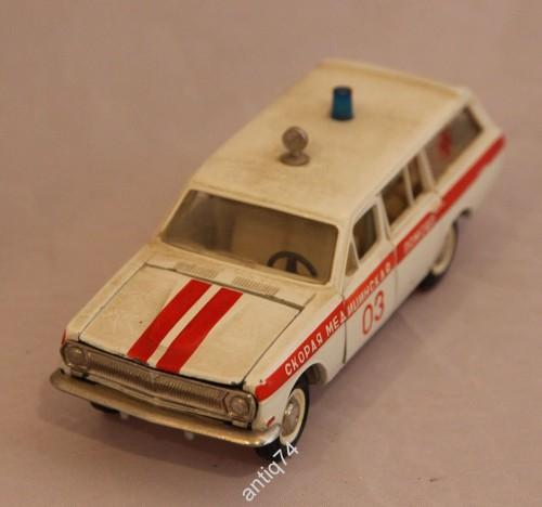 модель 1:43 Волга ГАЗ 24, скорая помощь