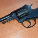 Револьвер наган 20-40-е годы. Блеф. Полностью рабочий