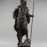 «Воин с копьем». Статуя.