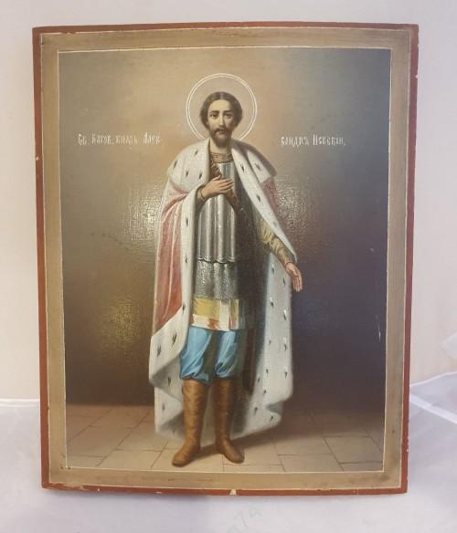 Икона Святой князь Александр Невский