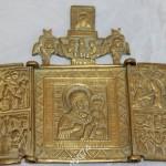Складень Богоматерь Смоленская