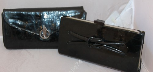 Два клатча, женские сумочки. Винтаж.