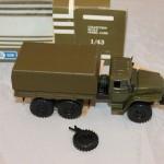 грузовик Урал - 4320. в родной коробке. Моделька. 1:43