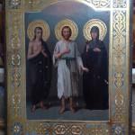 Икона Святые Мария, Алексей и Ираида (Раиса)
