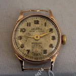 Часы золотые женские Delbana. На ходу, обслужены. Золото 750 проба.