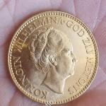 10 гульденов, золото. Нидерланды, 1932г.