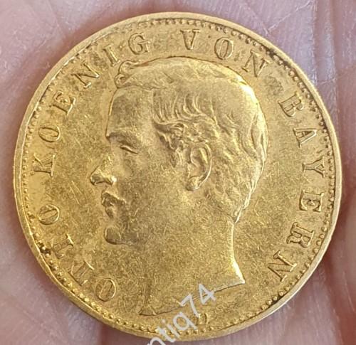 10 марок 1896г. Золото