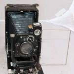Фотоаппарат Фотокор с редким объективом воомп ортаго 3, 22957 . Кофр, кассеты.