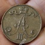 5 пенни 1883 г.