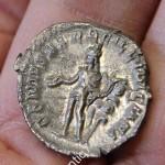 Антониниан, денарий. Рим. Серебро