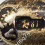 Ручка эмалевая, перо. В оригинальном футляре Россия, Москва, к. XIX-н. ХХ вв. Серебро, эмаль