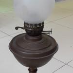 Большая керосиновая лампа. Англия.
