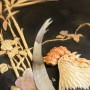 Огромные панно музейного уровня! Кость, перламутр. Объёмное маркетри. Подписные. Китай, Япония.