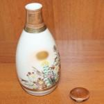 Бутылка для сакэ. Ручная роспись. Китай, Япония. Рубеж 19 - 20 века.