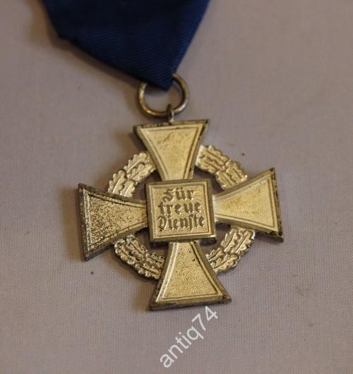 Крест за службу в полиции 2 степ. 3й рейх