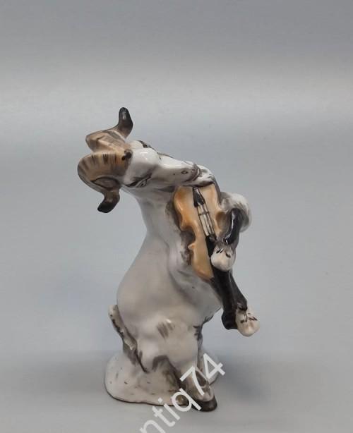 Статуэтка «Козел со скрипкой» из композиции «Квартет», ЛФЗ, Высший сорт!