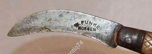 Нож стропорез? W.FUNKE NOSSEN сталь, кость.
