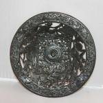 Тарелка Наяды. Морские божества. Касли, 1946г