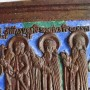 Меднолитая икона Ангел хранитель, Зосима и Савватий. Хрусталёв.
